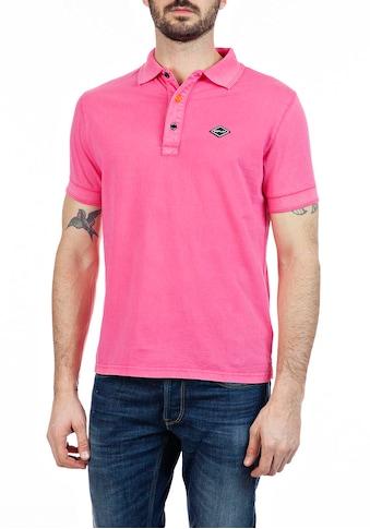 Replay Poloshirt, mit Ton-in-Ton Markenprint im Kragen kaufen