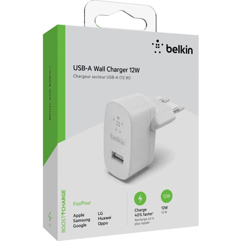 Belkin USB-Ladegerät »USB-A Ladegerät, 12W«