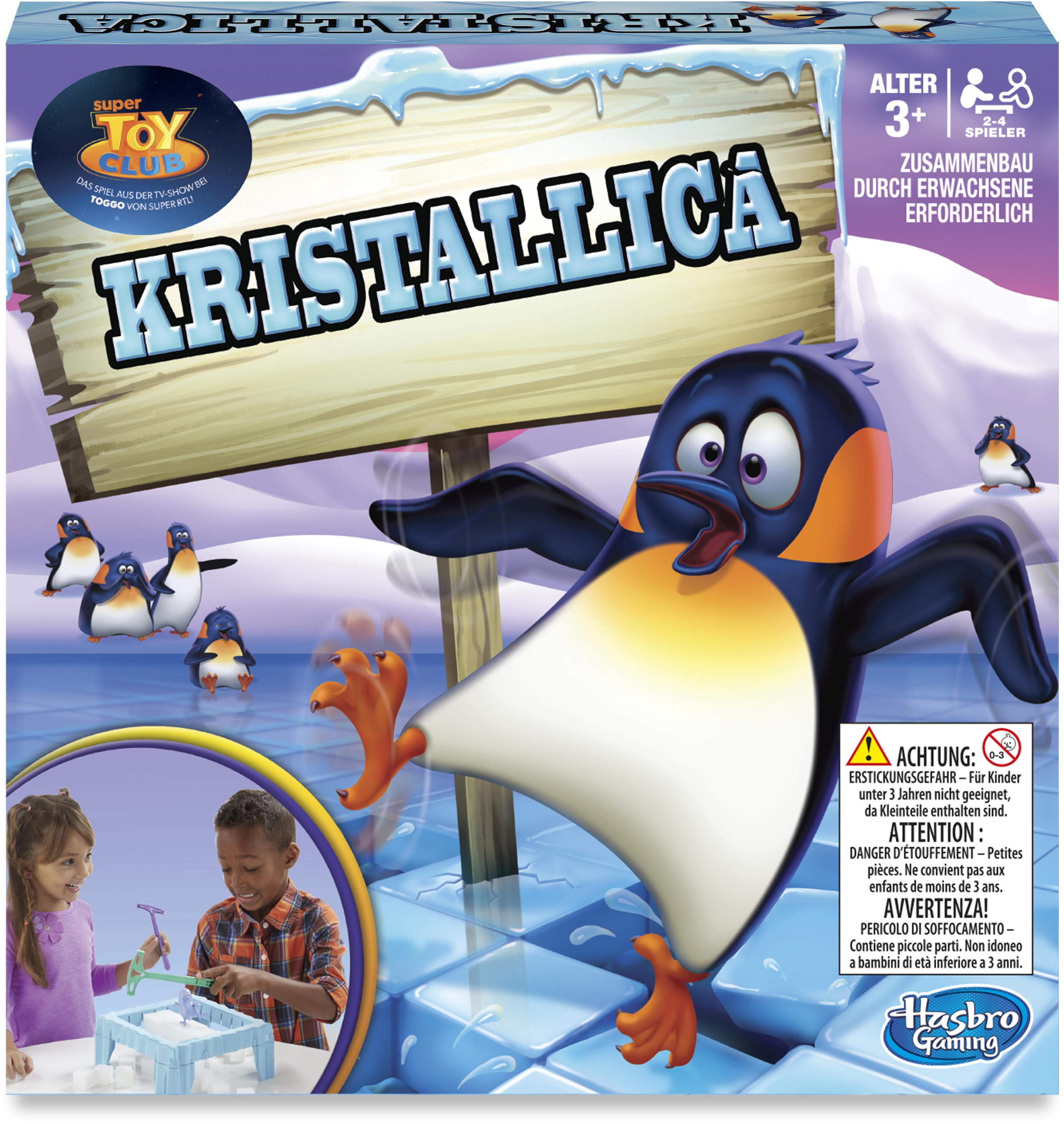"""Hasbro Spiel """"Kristallica"""" Technik & Freizeit/Spielzeug/Altersempfehlung/Ab 3-5 Jahren"""
