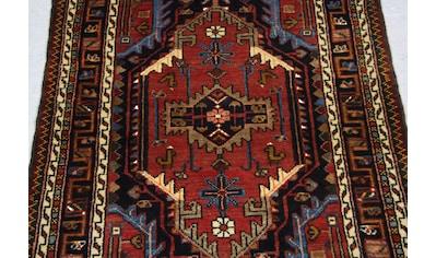 morgenland Wollteppich »Hosseinabad Teppich handgeknüpft rot«, rechteckig, 7 mm Höhe,... kaufen