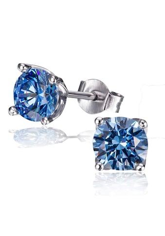 goldmaid Paar Ohrstecker 925/ -  Silber 2 blaue Zirkonia kaufen