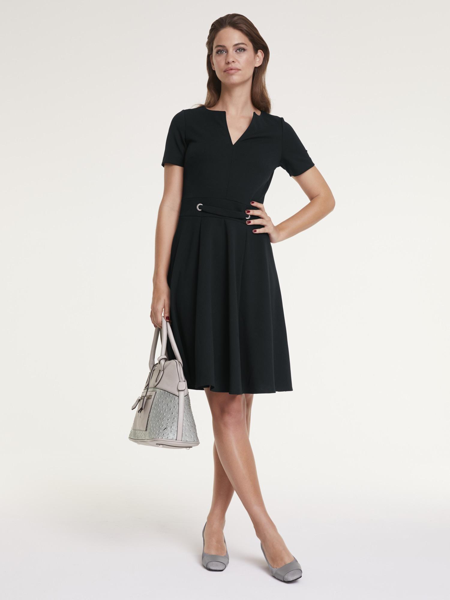ashley brookeheine a-linien-kleid, mit zier-Ösen