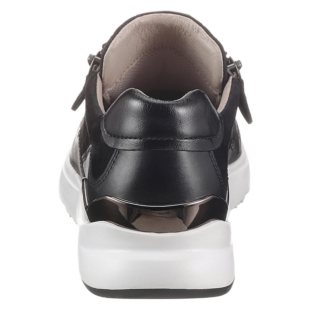 Gabor Keilsneaker, mit weißer Laufsohle