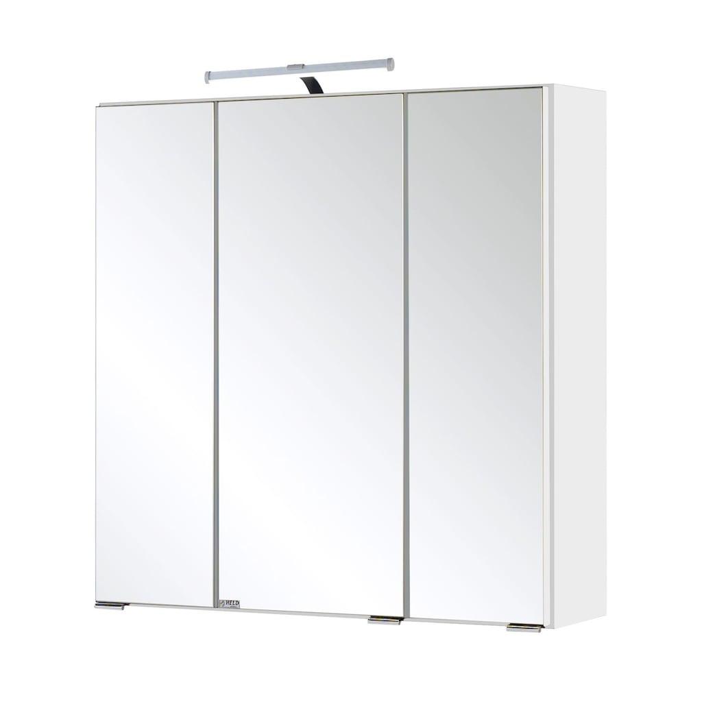 HELD MÖBEL Spiegelschrank »Siena«, Breite 60 cm, mit sparsamer LED-Beleuchtung