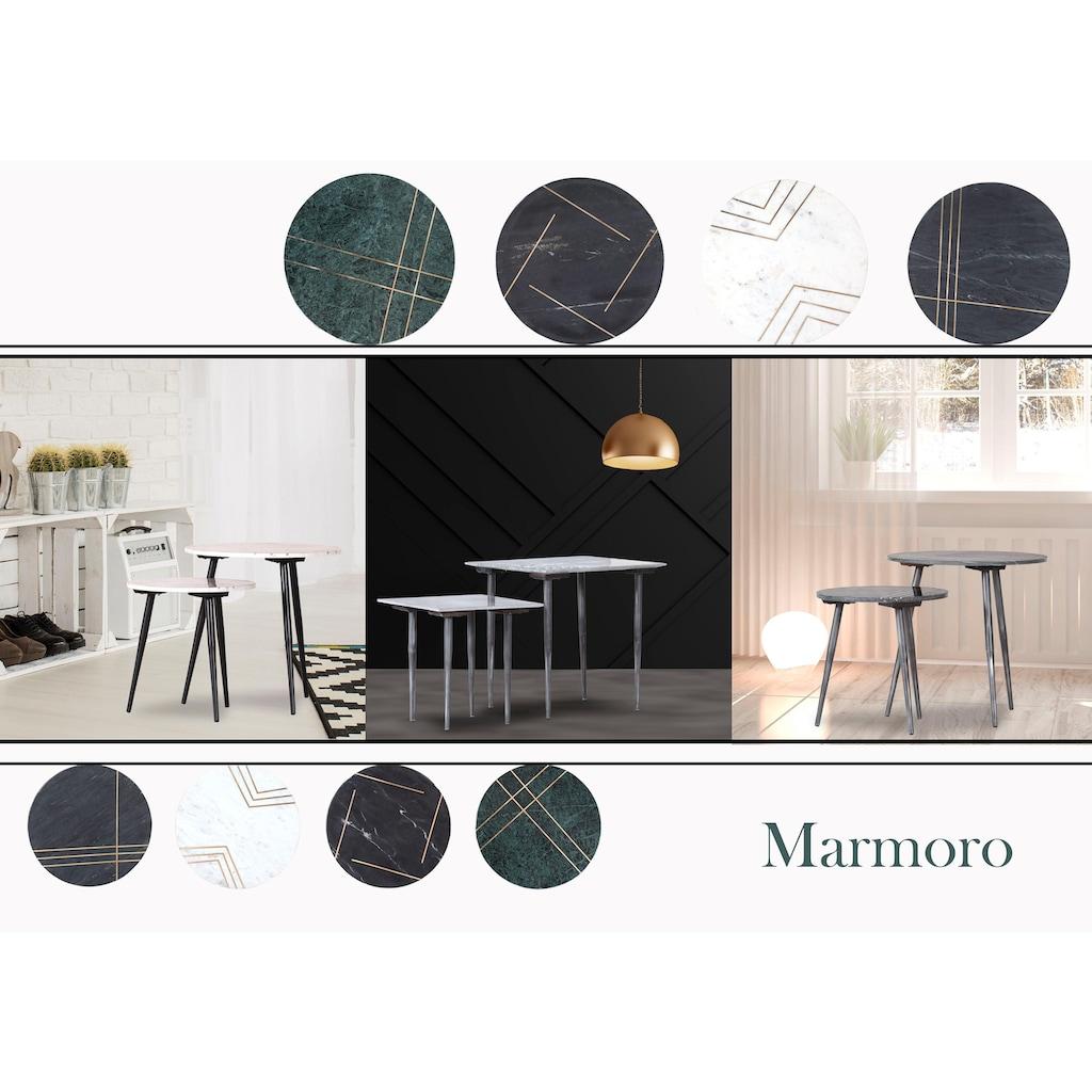 Gutmann Factory Beistelltisch »Marmoro«, (Set, 2 St.)