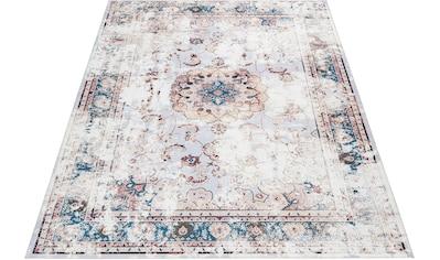 Leonique Teppich »Rosio«, rechteckig, 6 mm Höhe, Vintage Design, Wohnzimmer kaufen