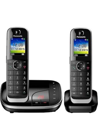 Panasonic »KX - TGJ322« Schnurloses DECT - Telefon (Mobilteile: 2) kaufen