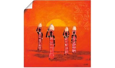 Artland Wandbild »Afrikanische Frauen« kaufen