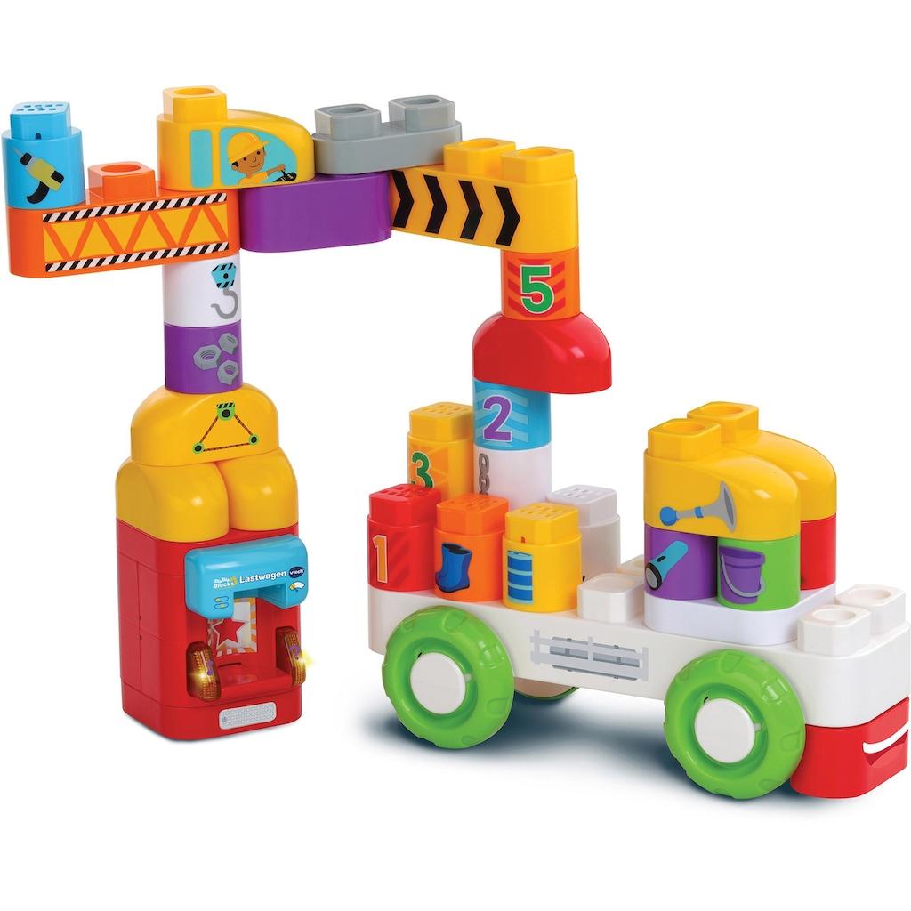 Vtech® Konstruktionsspielsteine »BlaBlaBlocks Lastwagen«, (30 St.)