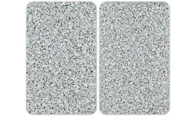 """WENKO Herd - Abdeckplatte """"Universal Granit"""", Glas Kunststoff, (Set) kaufen"""