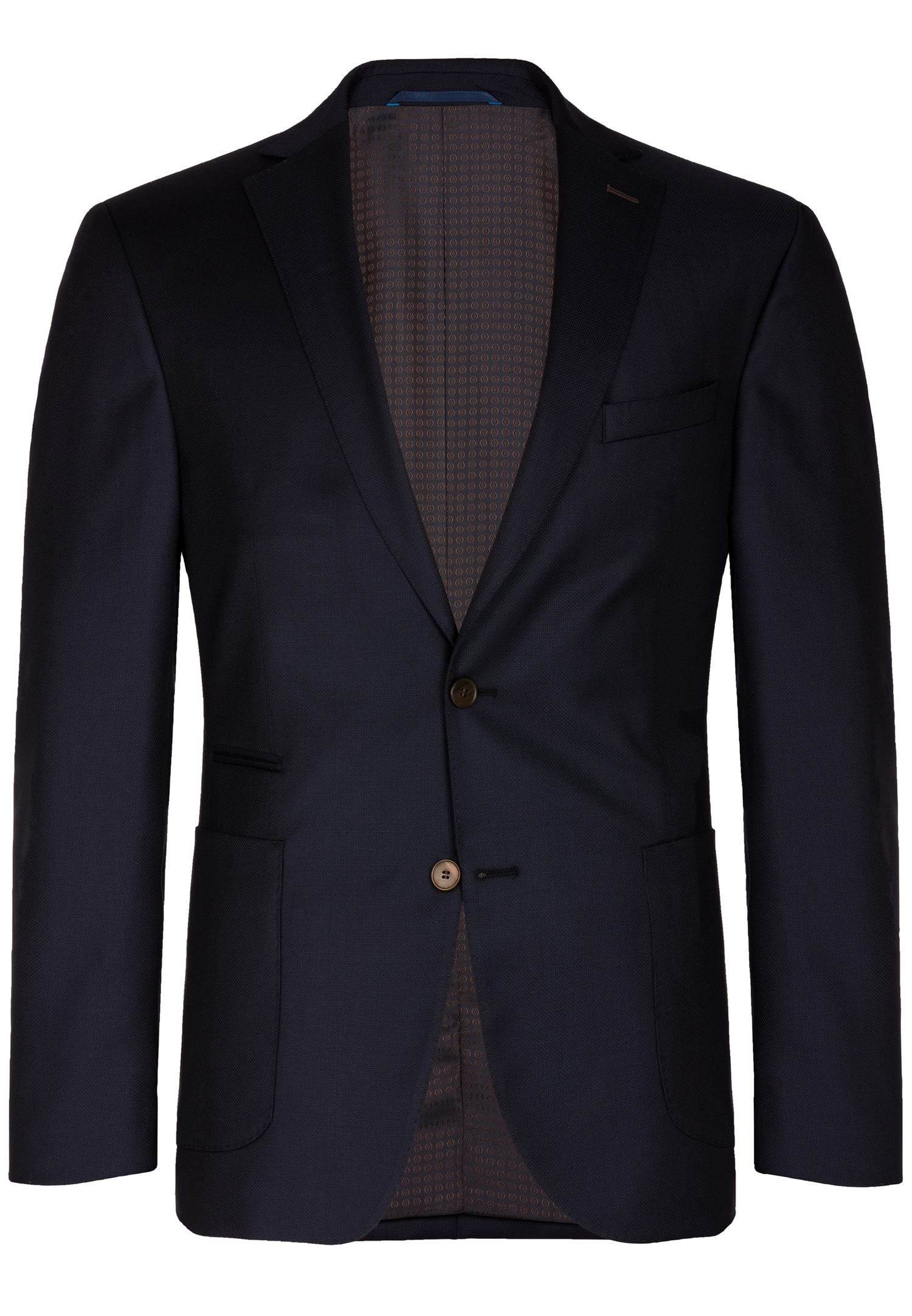 CARL GROSS Blazer »CG Fairbanks« | Bekleidung > Sakkos > Sonstige Sakkos | Blau | Schurwolle - Viskose | CARL GROSS
