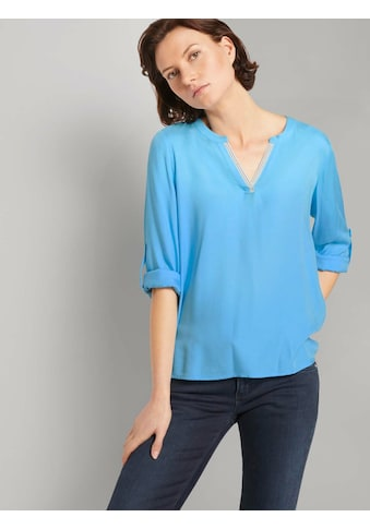 TOM TAILOR Shirtbluse »Bluse mit LENZING(TM) ECOVERO(TM)« kaufen