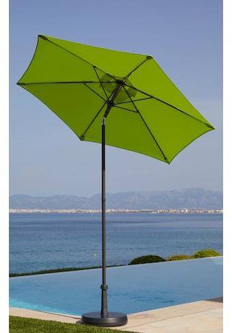 garten gut Sonnenschirm »Push up Schirm Rom«, abknickbar, ohne Schirmständer kaufen