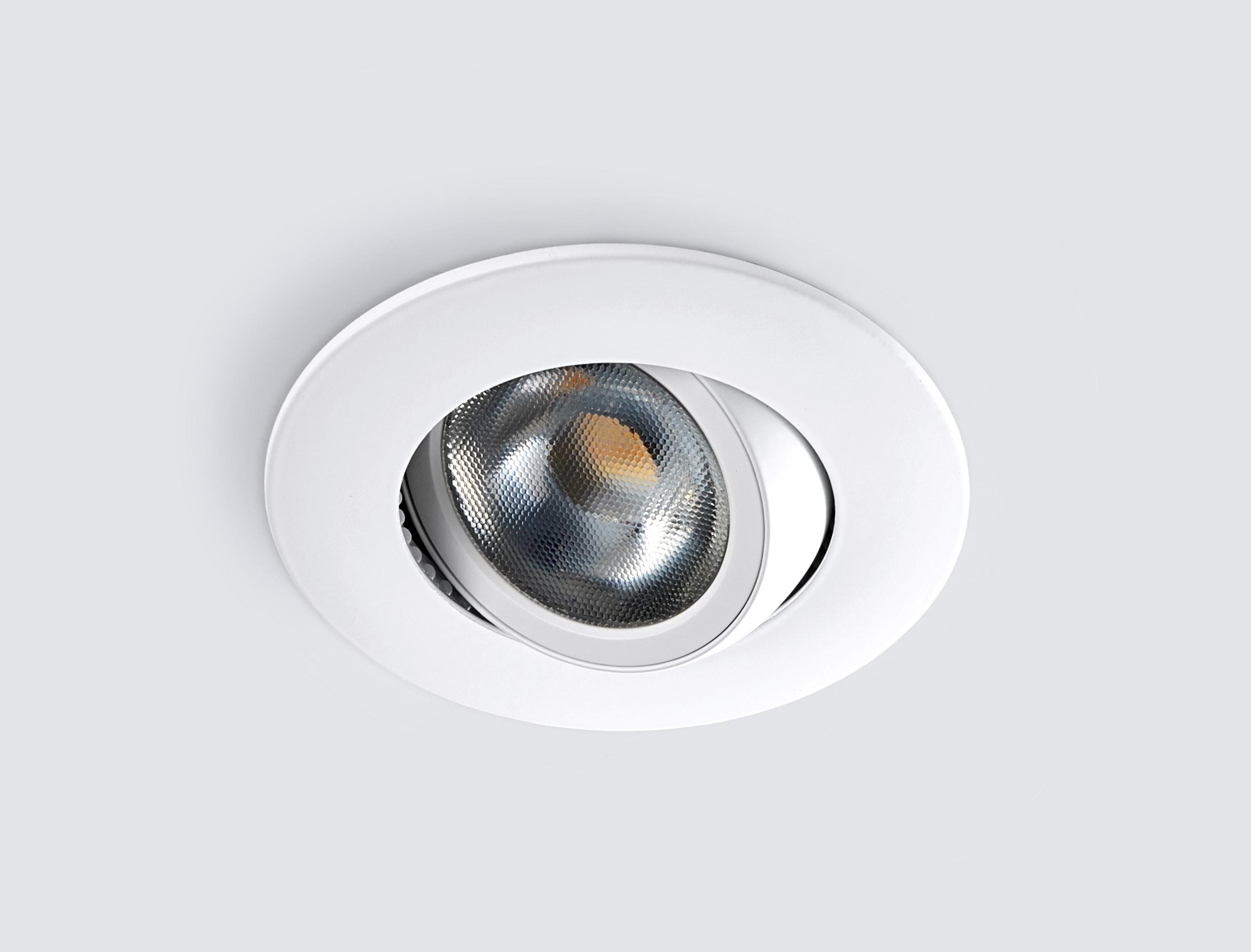HEITRONIC LED Einbaustrahler DL8002, LED-Modul, 1 St., Warmweiß, Lichtfarbe einstellbar (warmweiß oder neutralweiß)