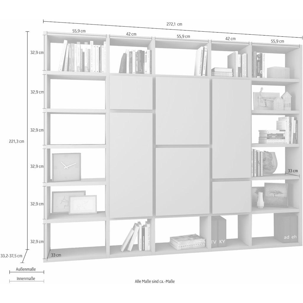 fif möbel Raumteilerregal »TOR501«, Breite 272 cm