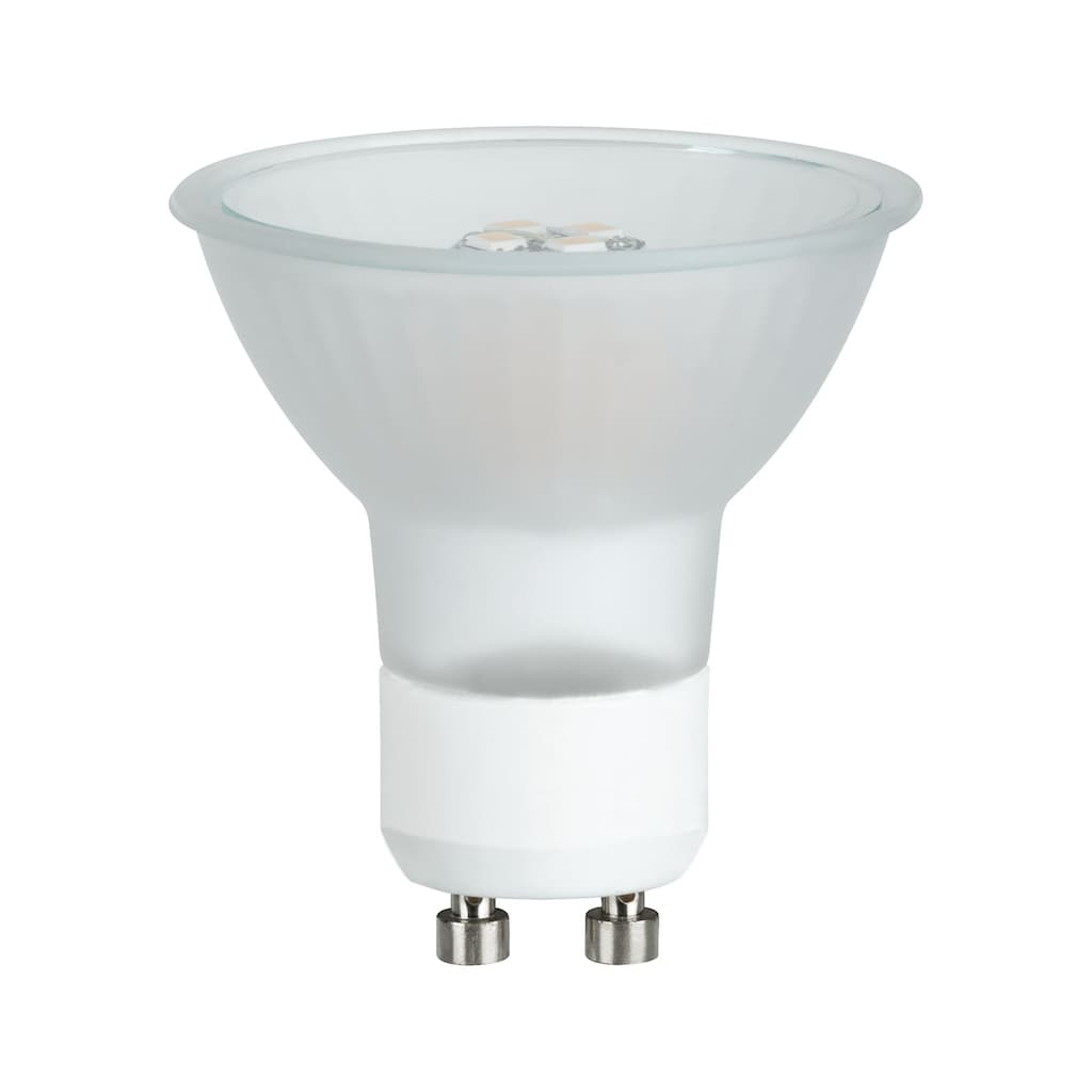 Paulmann LED-Leuchtmittel »Reflektor Maxiflood 3,5 Watt GU10 Softopal 230 V«, 1 St., Warmweiß