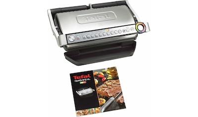Tefal Kontaktgrill GC722D OptiGrill+ XL, 2000 Watt kaufen