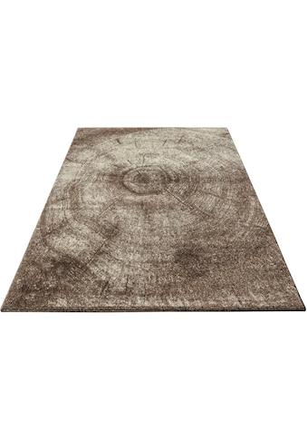 Bruno Banani Teppich »Austin«, rechteckig, 14 mm Höhe, Baumstamm-Design, Wohnzimmer kaufen