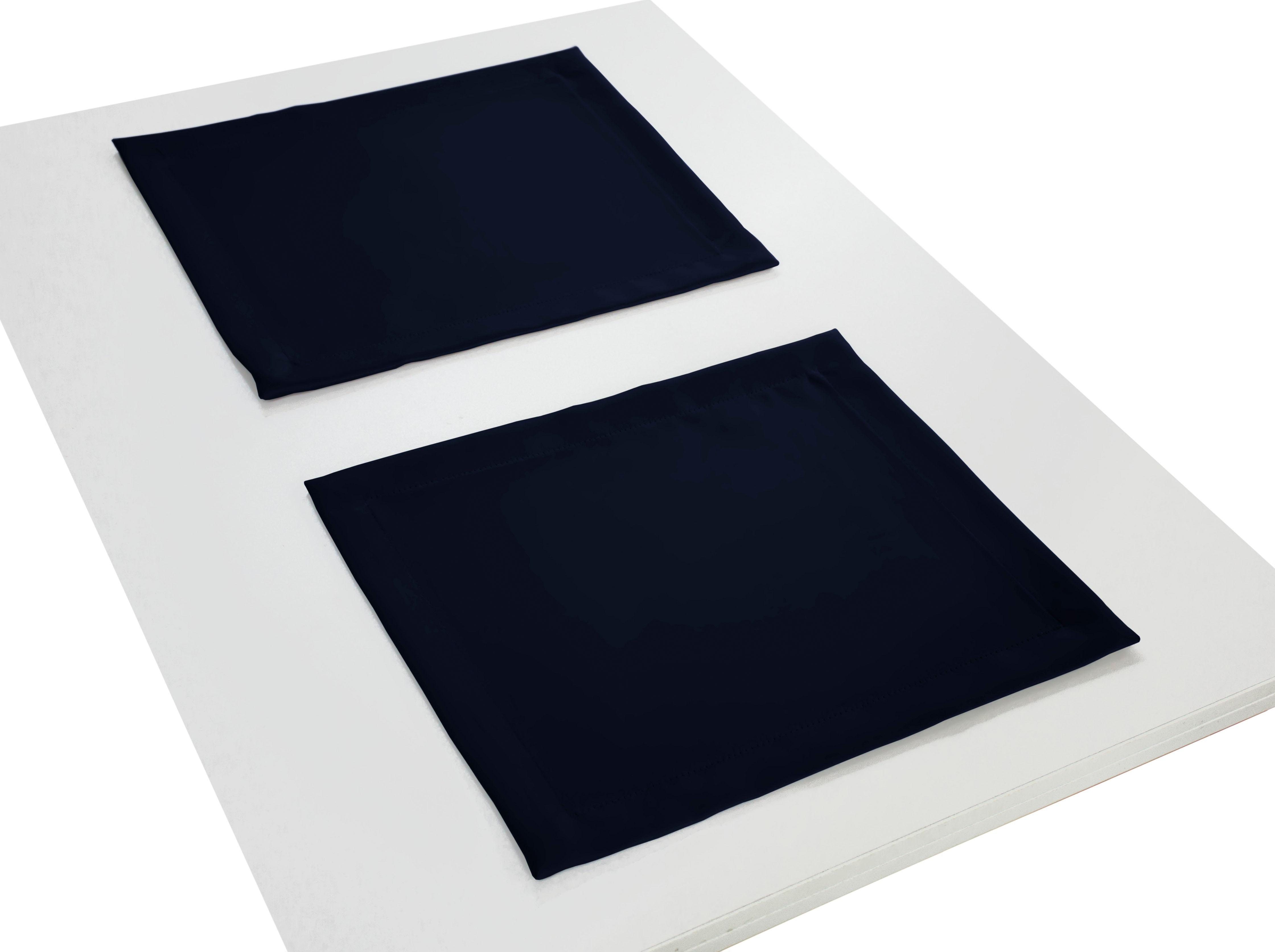 Platzset NEWBURY Wirth (Packung 4-tlg) | Heimtextilien > Tischdecken und Co > Platz-Sets | Blau | Wirth