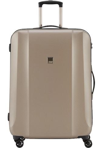 TITAN® Hartschalen-Trolley »Xenon Deluxe, 74 cm, Champagne«, 4 Rollen kaufen