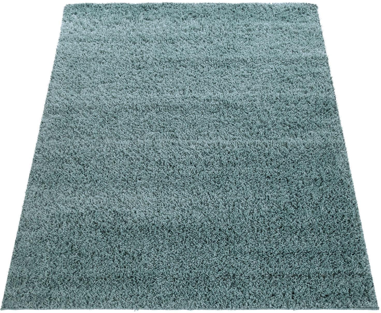 Hochflor-Teppich Twister 500 Paco Home rechteckig Höhe 45 mm