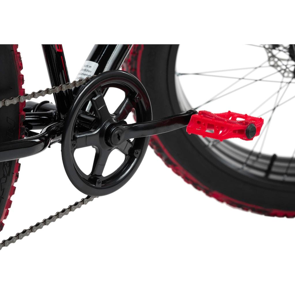 KS Cycling Fatbike »SNW2458«, 6 Gang, Shimano, Tourney Schaltwerk, Kettenschaltung
