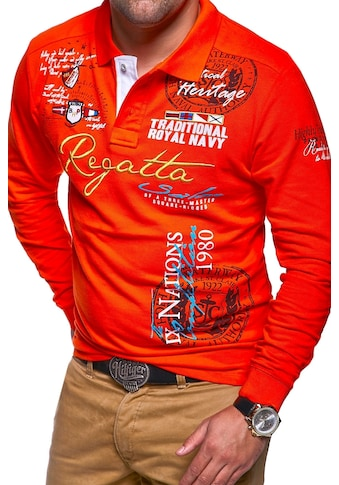 behype Poloshirt »REGATTA« kaufen