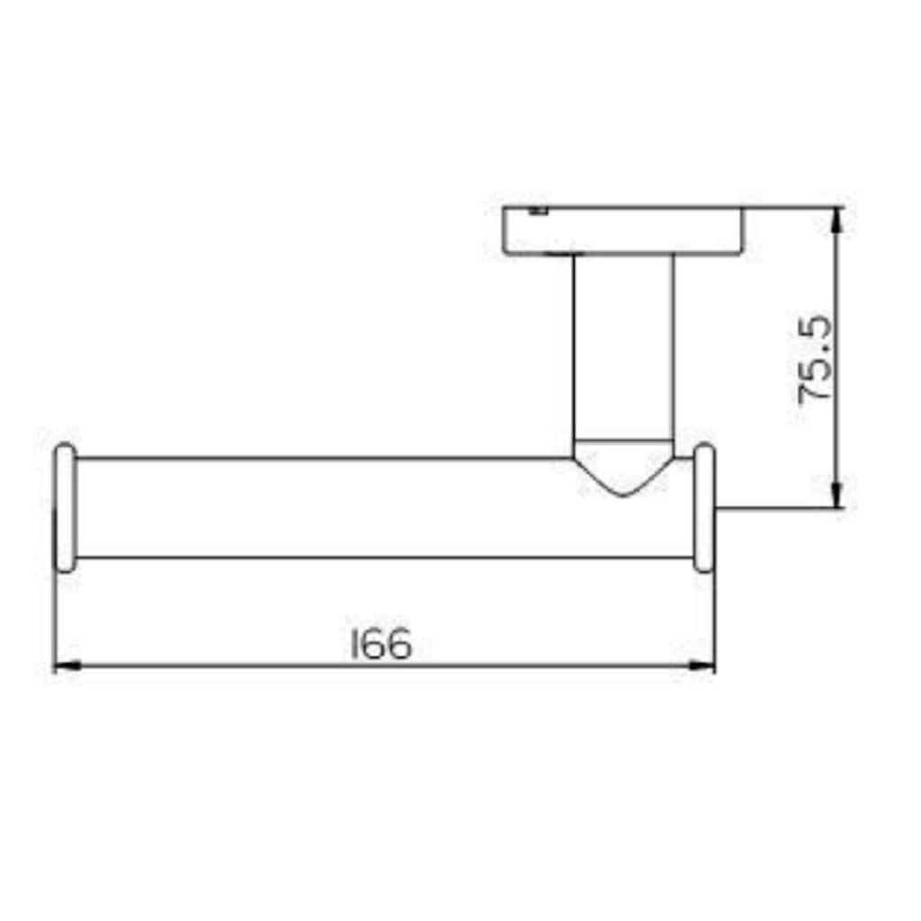 Provex Toilettenpapierhalter »Serie 100«
