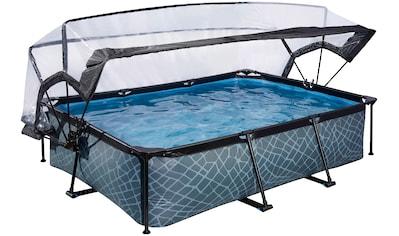 EXIT Framepool, (Set), BxLxH: 200x300x65 cm, mit Sonnendach kaufen