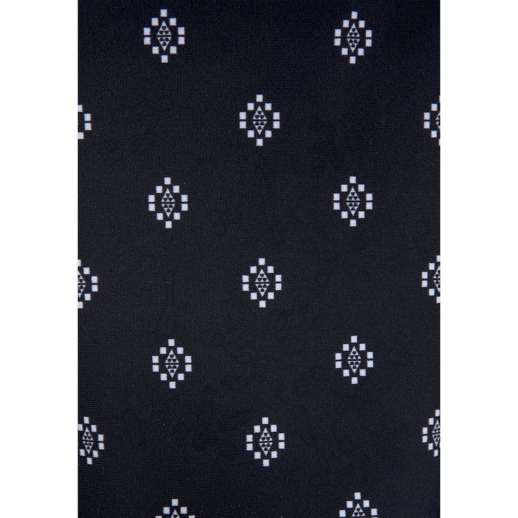 LASCANA Bügel-Tankini-Top »Kimer«, mit modernem Print