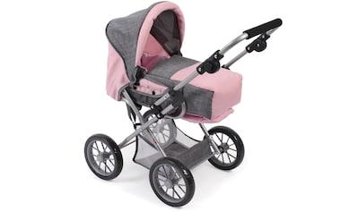 "CHIC2000 Kombi - Puppenwagen ""Leni, grau - rosa"" kaufen"