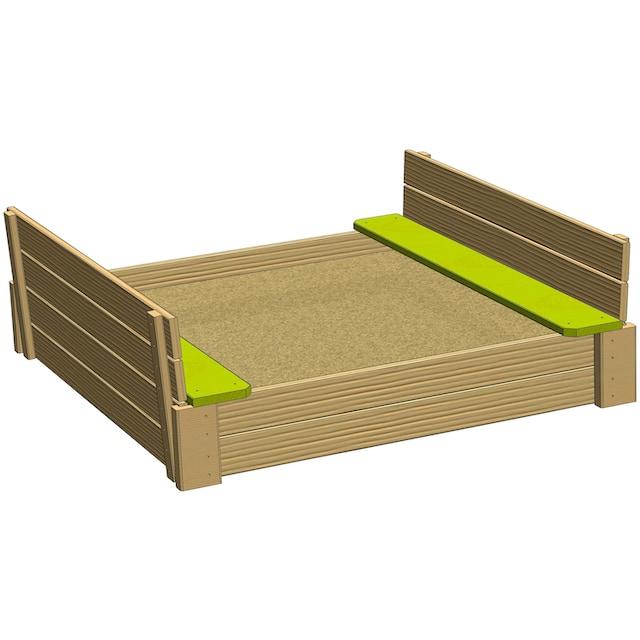 50NRTH Sandkasten »Wendi Toys Sandgrube«, BxTxH: 120x120x25 cm