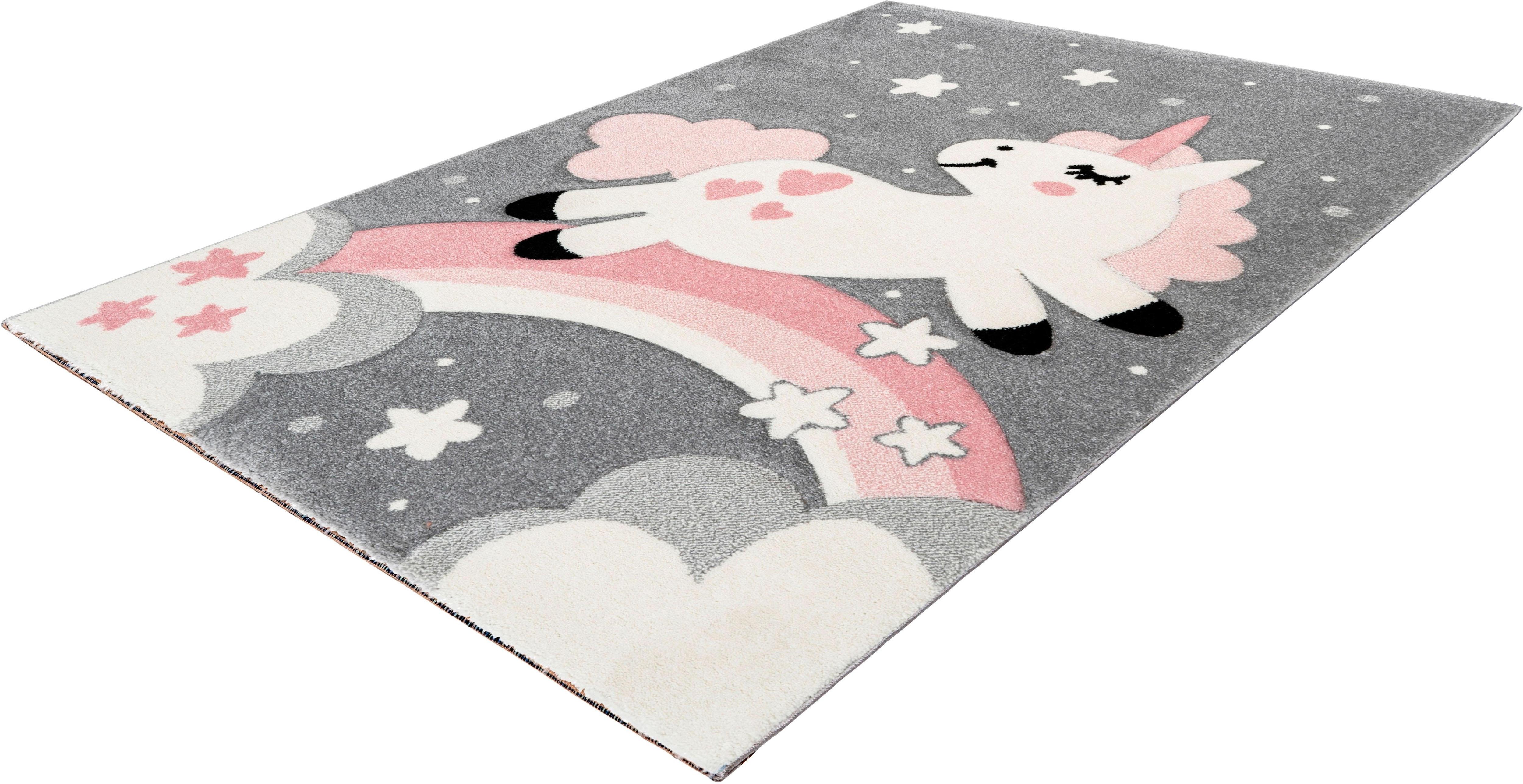 Kinderteppich Yonah 400 calo-deluxe rechteckig Höhe 15 mm maschinell gewebt