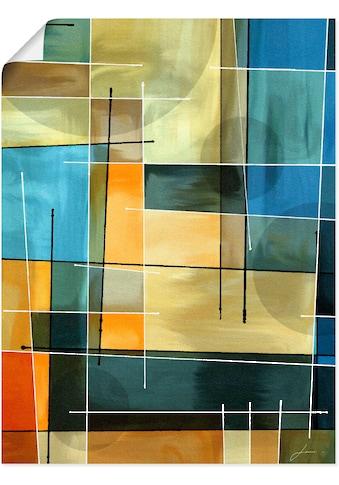 Artland Wandbild »Gegenbalance I«, Muster, (1 St.), in vielen Größen & Produktarten -... kaufen