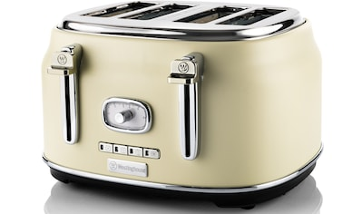 Westinghouse Toaster »WKTT809WH«, 4 kurze Schlitze, 1750 W kaufen