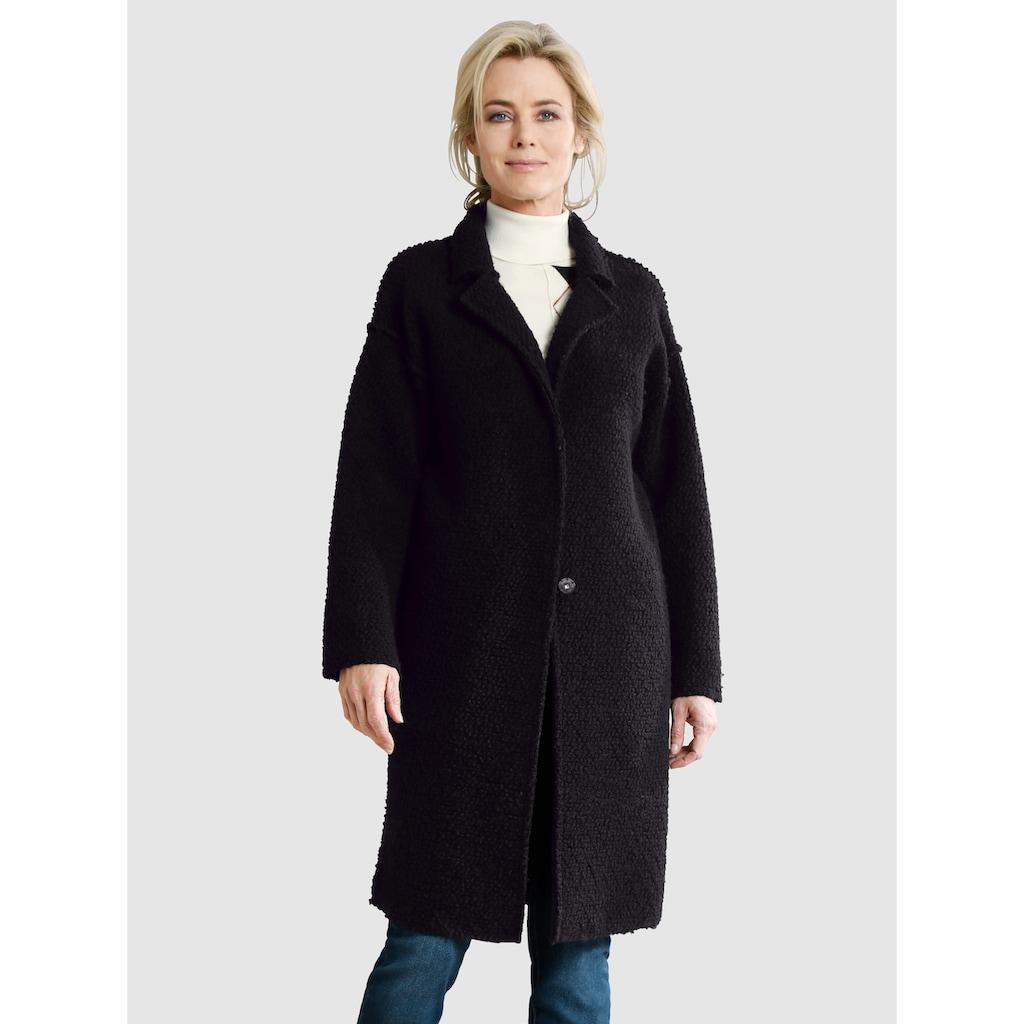 Dress In Wolljacke mit Knöpfen