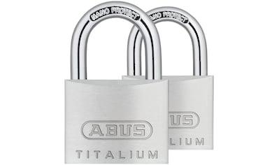 ABUS Set: Vorhängeschloss »64TI/30 Twins B/SB« kaufen