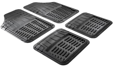 WALSER Auto-Fußmatte »Maximus Plus«, (4 St.), zuschneidbar, Kautschuk kaufen