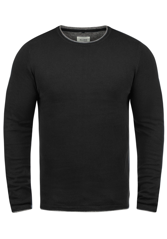 Blend Rundhalspullover Odin | Bekleidung > Pullover > Rundhalspullover | Blend