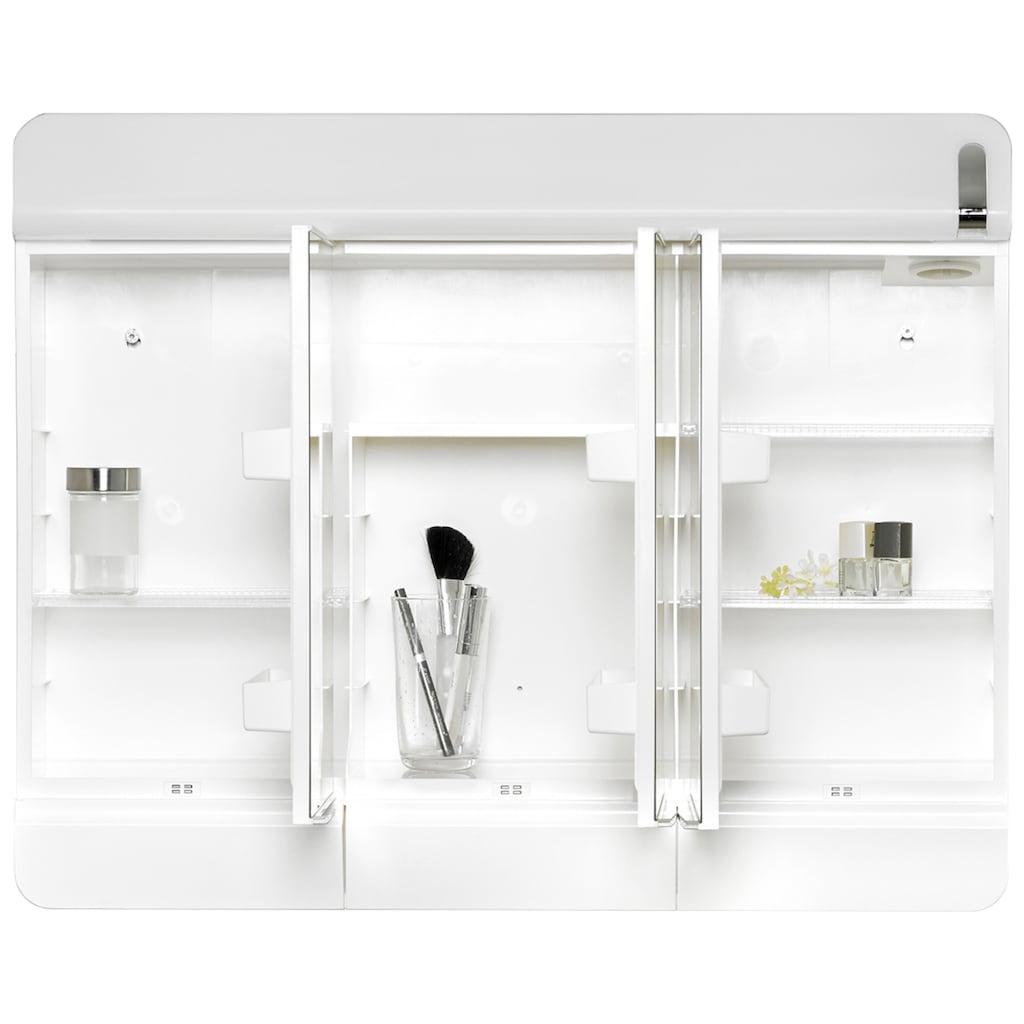 jokey Spiegelschrank »Alida«, weiß, 68,3 cm Breite