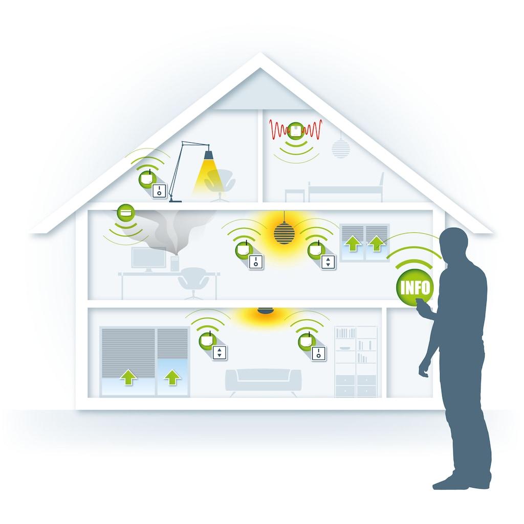 DEVOLO Smart-Home-Station »Z-Wave, Steuerung per App, Smart Home Aktor«, Home Control Rollladensteuerung-Unterputz