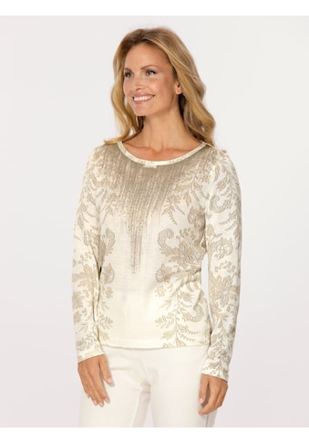 Mona Pullover mit grafischem Druck kaufen