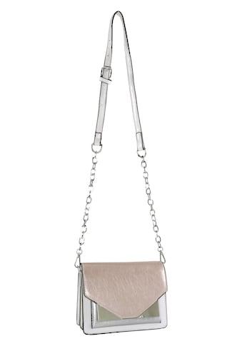 Tasche mit Patch aus Metallicmaterial kaufen