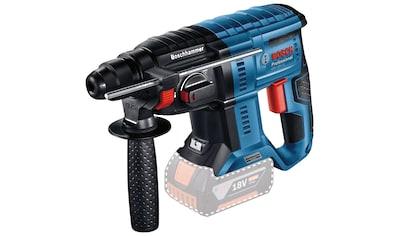 Bosch Professional Akku-Bohrhammer »GBH 18V-21 Professional«, kabelloser Komfort und bürstenlose Leistung kaufen
