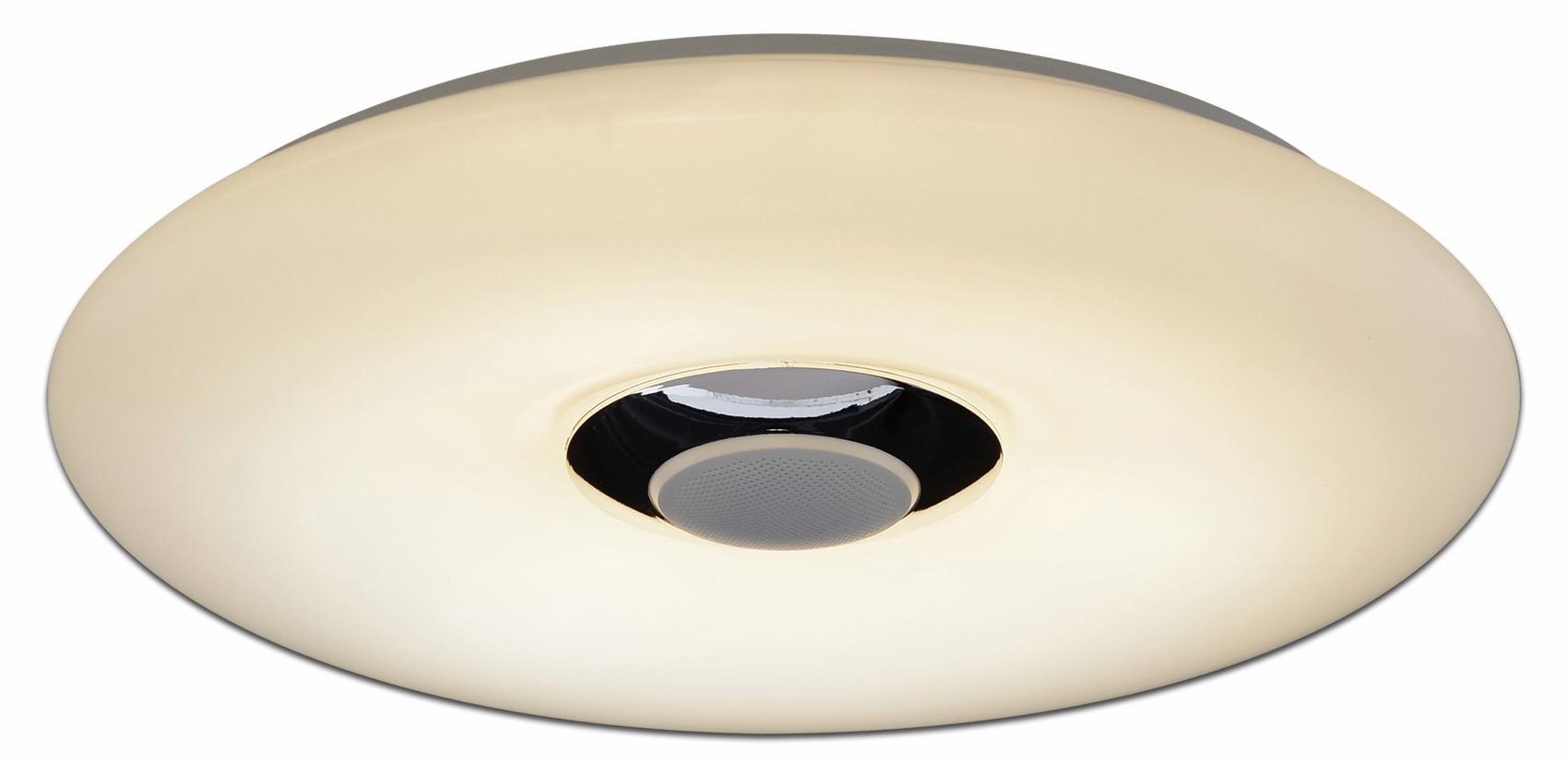 näve LED Deckenleuchte NASHVILLE, LED-Board, Kaltweiß-Warmweiß, mit RGB-Farbwechsler