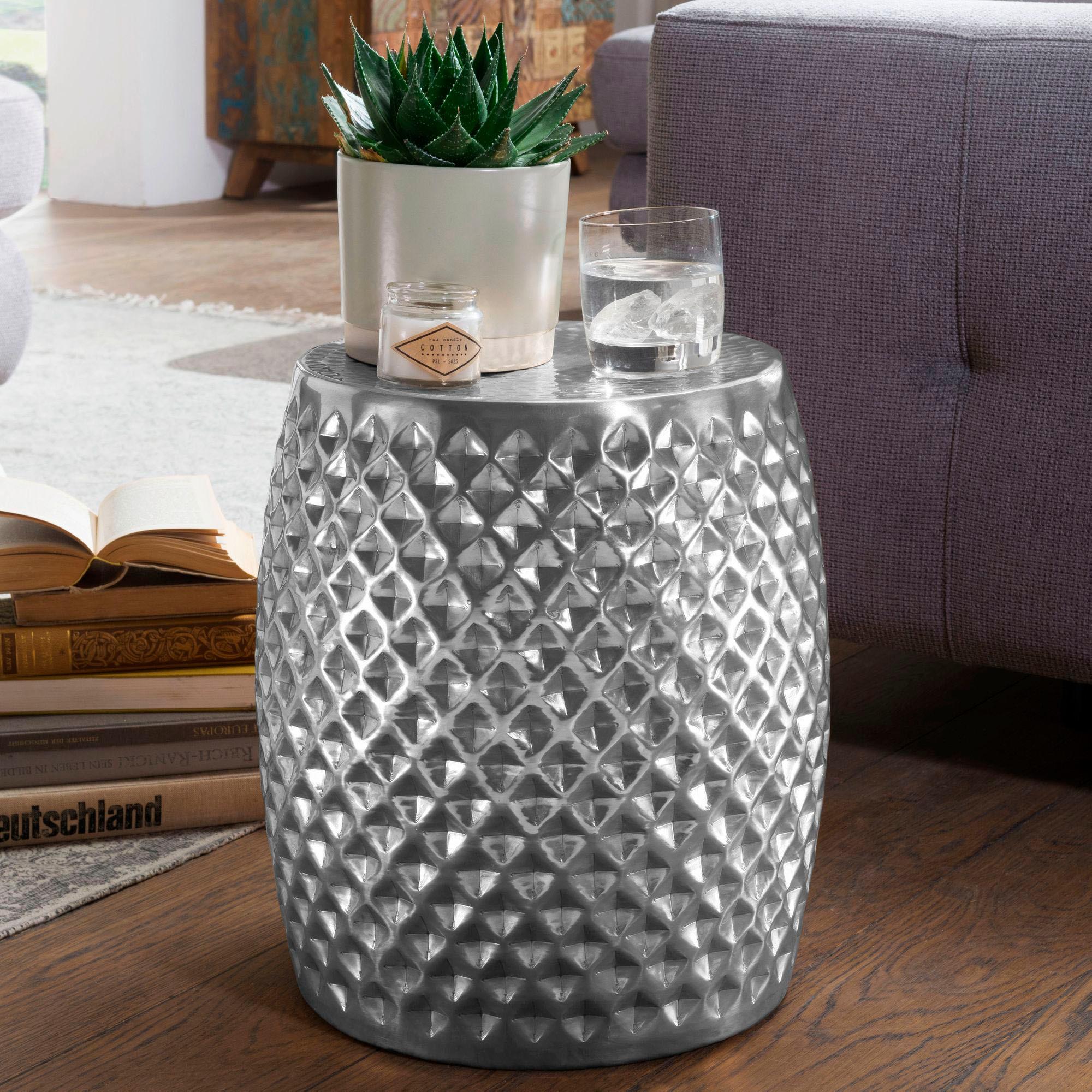 INOSIGN Beistelltisch Sita aus Aluminium Wohnen/Räume/Wohnzimmer/Couchtische & Beistelltische/Beistelltische