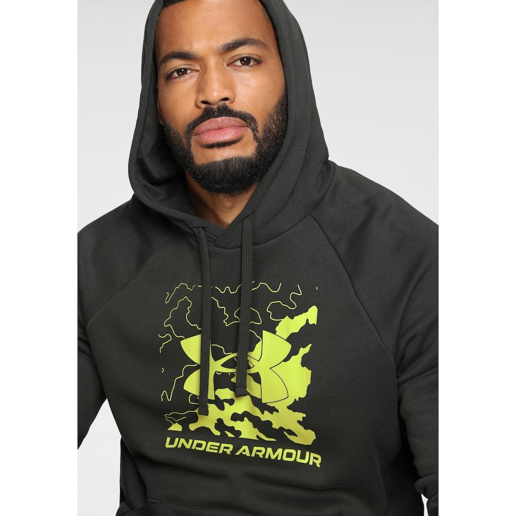 Under Armour® Kapuzensweatshirt »UA RIVAL FLEECE BOX LOGO HOODY«