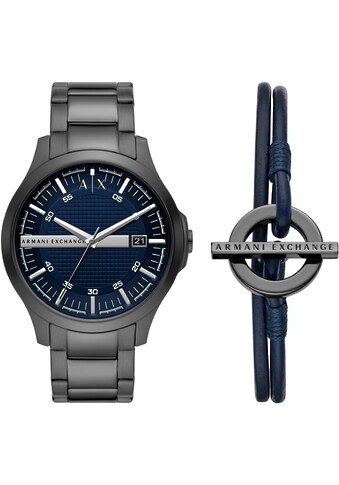 ARMANI EXCHANGE Quarzuhr »AX7127«, (Set, 2 tlg., mit Armband) kaufen