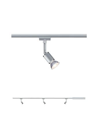 """Paulmann Schienensystem - Leuchten """"URail Set Pure II Chrom matt ohne Leuchtmittel max. 10W GU10"""", (100 cm), (1tlg.) kaufen"""