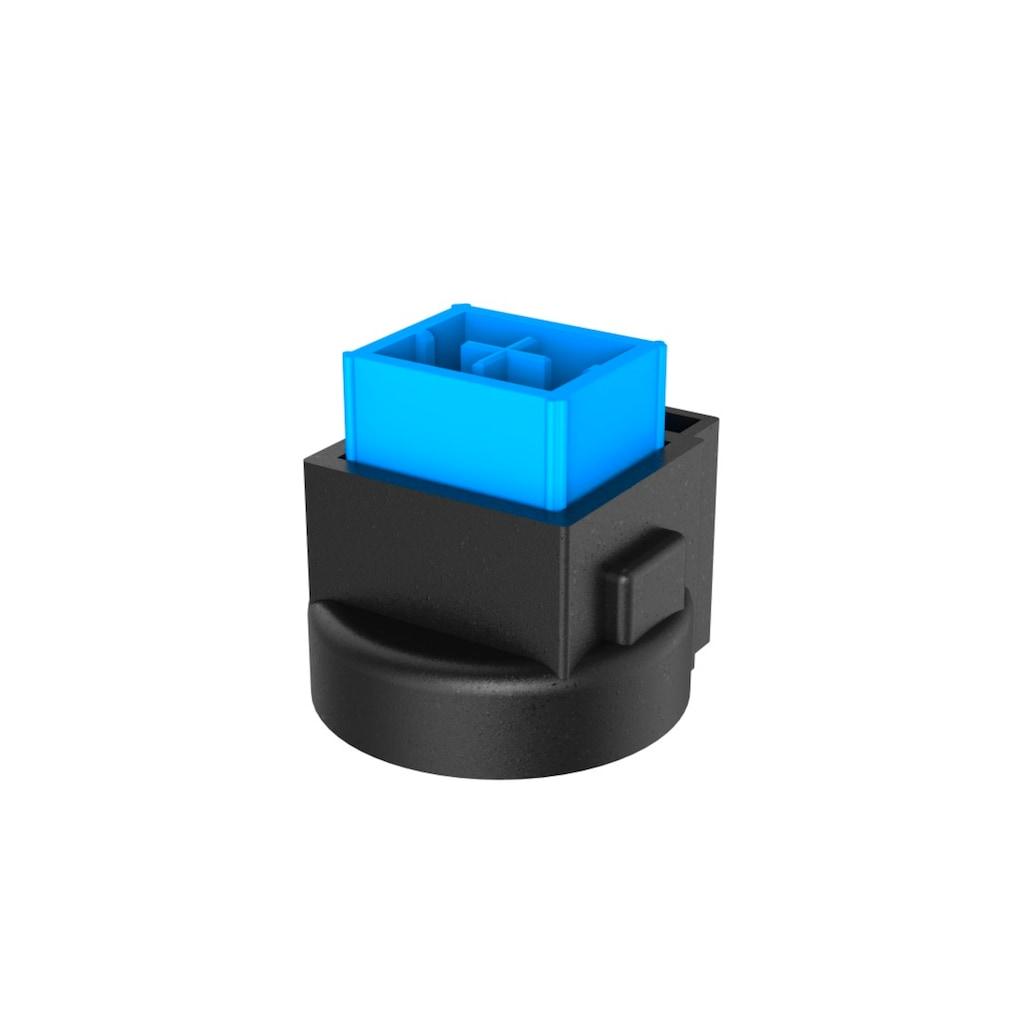 uRage Gaming Gamer Tastatur, halb mechanisch, RGB beleuchtet